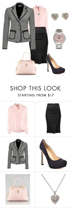 """Business Meeting"" by doris610 ❤ liked on Polyvore featuring H&M, Rick Owens, Strenesse Blue, Ivanka Trump, Marc Jacobs and Juicy Couture"