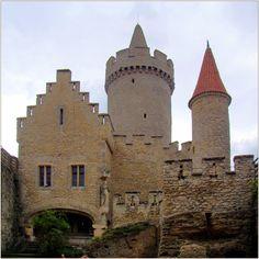 Kokorin Castle in the Czech Republic