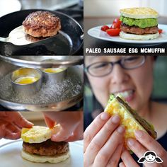"#Paleo #Sausage Egg ""McMuffin"" By Michelle Tam http://nomnompaleo.com shared on https://facebook.com/lowcarbzen"
