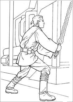 Star Wars Målarbilder för barn. Teckningar online till skriv ut. Nº 30