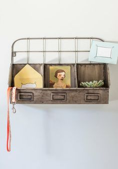 All Sorted Wall Organizer, #ModCloth $65