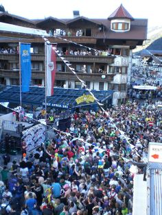 #Snowbombing starts today in #Mayrhofen. Who's excited? #festival