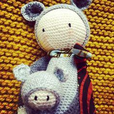 KIRA the kangaroo made by joanamonteiro / crochet pattern by lalylala