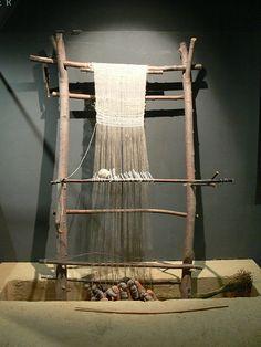 Sjal vevd på oppstadvev fra Iduna (Vikingsnitt)