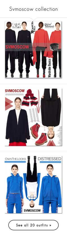 """Svmoscow collection"" by angel-a-m ❤ liked on Polyvore featuring Vetements, A.F. Vandevorst, The Row, Undercover, Timberland, Y's by Yohji Yamamoto, Haider Ackermann, Volga Volga, Share Spirit and Balenciaga"