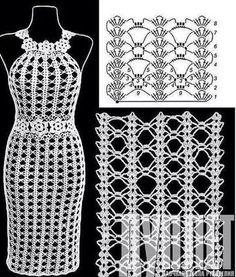 New Crochet Bikini Skirt Lace Ideas Crochet - Diy Crafts - moonfer Bikini Crochet, Crochet Beach Dress, Crochet Summer Dresses, Black Crochet Dress, Crochet Skirts, Crochet Clothes, Beau Crochet, Mode Crochet, Irish Crochet