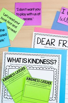 Character education and kindness lessons in the classroom by Teaching with Haley. In this post, I share tons of ideas for you on character education! Including why I teach character education, how I teach social-emotional learning, when I teach kindness activities, and more. These are perfect kindness lessons for kindergarten, first-grade students, and second-grade student's. I hope you take away several ideas you can implement in your classroom tomorrow! Learn more!