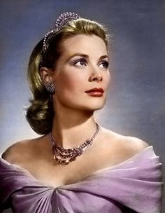 Princess Grace of Monaco in her Dior gown....photo by Karsh...gown on display at McCord Museum until Oct 6/13.