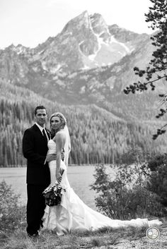 photos of stanley, idaho town | An image from a wedding photographed in Stanley, Idaho