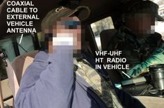 Michigan militia using VHF UHF radio in vehicle with external antenna Portable Ham Radio, Tactical Survival, Radio Frequency, Survival Skills, Radios, Vehicle, Guns, Ham Radio, Weapons Guns