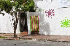 el diario de las manualidades: PUERTAS !!! Bogota Destino Capital