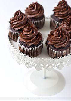 Chocolate espresso cupcakes ♥