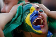 by Ueslei Marcelino/Reuters - Anguished fan in Brasília