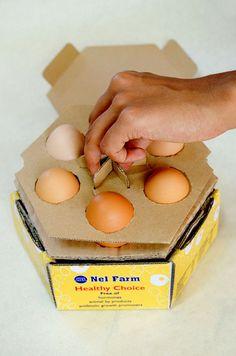 Egg Package Design on Behance
