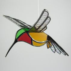 3D hummingbird. Cute to hang on the front porch...