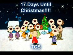 17 days until xmas