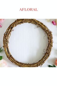 DIY Budget Spring Wreath Tutorial Create a stunning Spring wreath for your front door with fake flow Artificial Flowers And Plants, Fake Flowers, Dried Flowers, Silk Flowers, Spring Wreaths For Front Door Diy, Artificial Flower Arrangements, Floral Arrangements, Easter Wreaths, Fall Wreaths