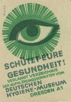 German #matchbox label by Shailesh Chavda, To design & order your business' #matches GoTo: GetMatches.com Today!