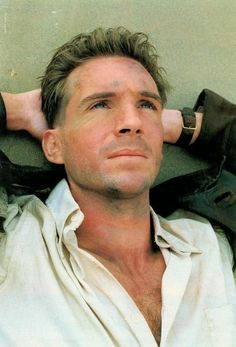 """Ralph Fiennes in """"The English Patient"""""""