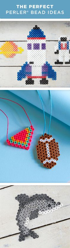 Keep your kiddos busy and create fun designs with Perler® Beads this summer! Turn your creations into keychains, necklaces or even coasters. For more craft ideas and everything you need to make these projects visit Michaels.com