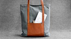 Sac cabas sac en toile sac shopping sac de pique-nique par HANDWERS