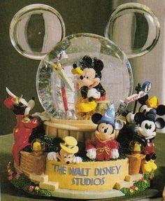 Disney Mickey Through The Years Snowglobe