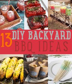 Ideas For A Backyard BBQ | Recipes &  Foods To Make For Backyard Parties