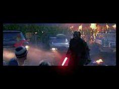 Jason with a lightsaber