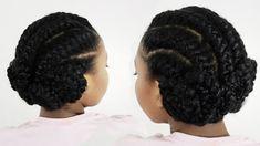Black Hair Cornrow Styles | Corporate Hairstyles For Black Women Goddess Braids | Long Hairstyle ...