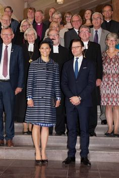Los principes Victoria y Daniel celebran el 1000 aniversario de la diócesis de Skara
