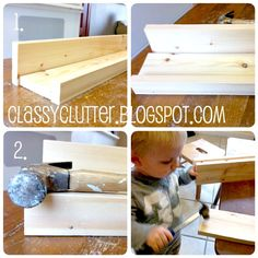 Classy Clutter: DIY book shelf ledges - Easy, inexpensive and AWESOME!