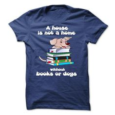 Books And Dogs T Shirts, Hoodies. Get it now ==► https://www.sunfrog.com/LifeStyle/Books-And-Dogs.html?57074 $19