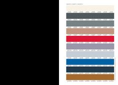 Recipiente Moda: Cartela de Cores Inverno 2014 - Inspira Mais