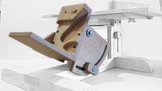 Шлифовальный станок (наклонная база) / Belt Sander Stand (sloping base)