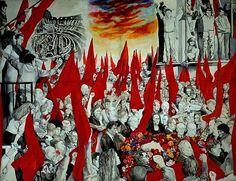 Guttuso. I funerali di Togliatti.