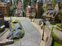 N Scale, Miniature Crafts, Model Trains, Locs, Scenery, Patio, Outdoor Decor, Ideas, Tiny Houses