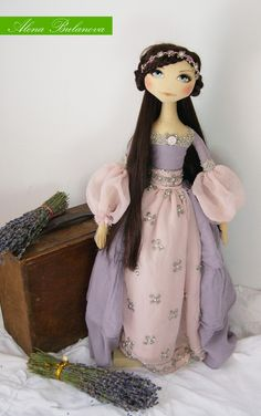 Alena Bulanova: Princess castles in the air ♡ Pretty Dolls, Beautiful Dolls, Cardboard Box Crafts, Cardboard Castle, Monster High Dolls, Doll Maker, Soft Dolls, Soft Sculpture, Diy Doll