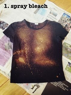 DIY galaxy shirt projects-for-my-twins-tweens-and-teens