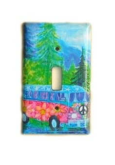road trip VW BUS lightswitch cover