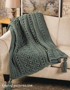 Aran afghan crochet pattern free