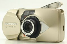 [MINT] Olympus mju II 110 35mm Film Camera AF Zoom Lens From Japan 236 #Olympus 35mm Film, Film Camera, Zoom Lens, Olympus, Mint, Japan, Ebay, Japanese, Peppermint