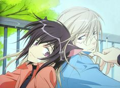 100 days anime challenge - Day 59: favourite yaoi. First I wanted to take Free! since my favourite yaoi couple is in that show and I heavenly love that anime, but as it's not classified as such I decided to take Loveless. The character developpement, art and story is so well made that I imeadiatly bought all 12 manga. Aaaah~ Kouga-sensei, approving the 13 part of the manga really makes me happy, but don't u think that two years is a bit much time...TTOTT pls don't make me wait another two…