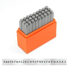 Find the ImpressArt® Basic Bridgette Letter Stamp Set, Upper Case at Michaels.com. Lend a handwritten look to your stamped projects with this ImpressArt® Basic Bridgette Letter Stamp Set.
