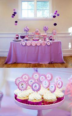 Luxury Purple Birthday Decoration Ideas