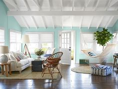 Hurricane Sandy Beach Bungalow Makeover -Country Living's House of the Year 2013