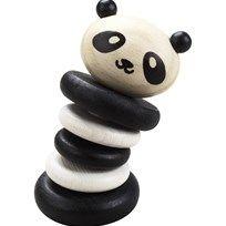 Classic World Aktivitetslegetøj, Panda rangle Black