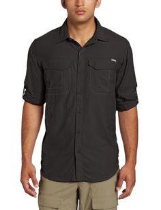 Cover: Columbia Sportswear Men's Silver Ridge Long Sleeve Shirt, Grill.
