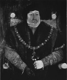 The Duke of Suffolk, Charles Brandon, as an older man. Perhaps by Holbein,