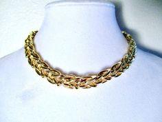 St. John Gold Tone Chain Necklace #StJohn #Chain