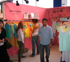 Mimi & Coco at NYC Coterie September 2004